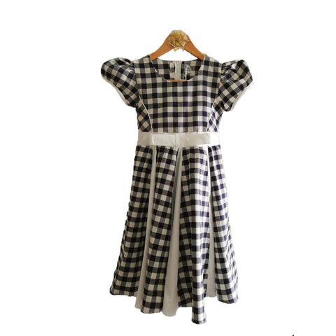 Mall Kids Checkered Black Charisma for Baby Girl