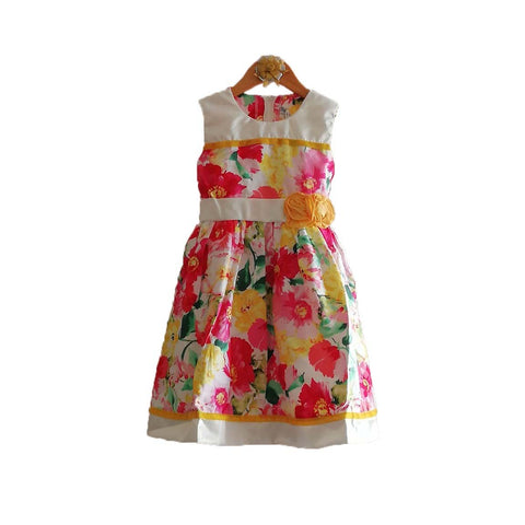 Mall Kids Floral Pleasure Yellow for Baby Girl