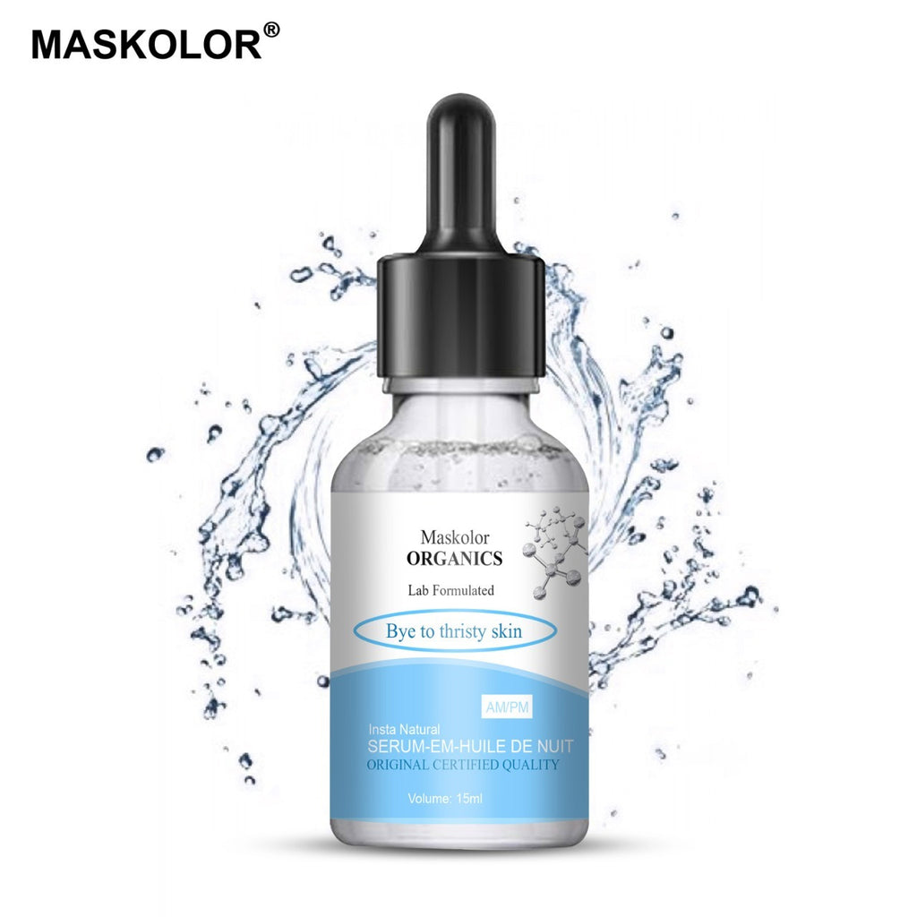Maskolor Organics Bye to Thirsty Skin Serum - 15ml