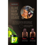Maskolor Olive Hair Mask - 500gms