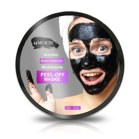Muicin Charcoal Peel Off Mask - 300gms