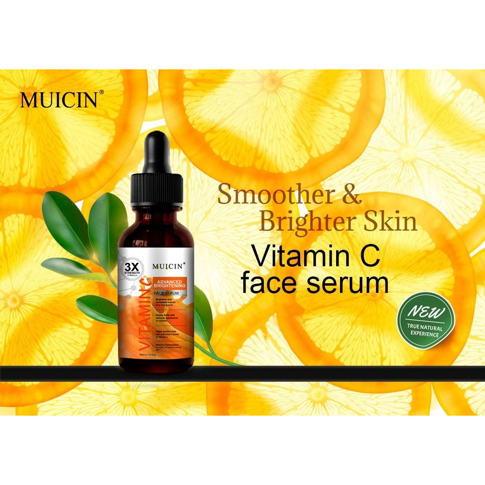 Muicin Vitamin C 3X Strength Face Serum - 30ml