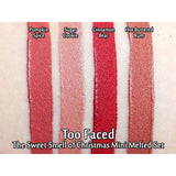 Too Faced Sweet Smell Mini Melted Liquid Lipstick Set - Pack of 4