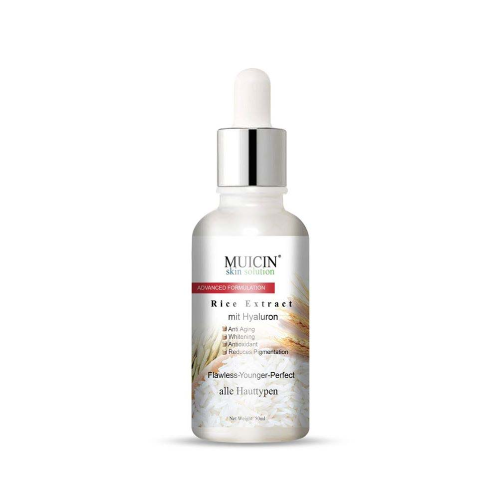 Muicin Rice Extract mit Hyaluron Serum for Fresh & Younger Skin - 50ml