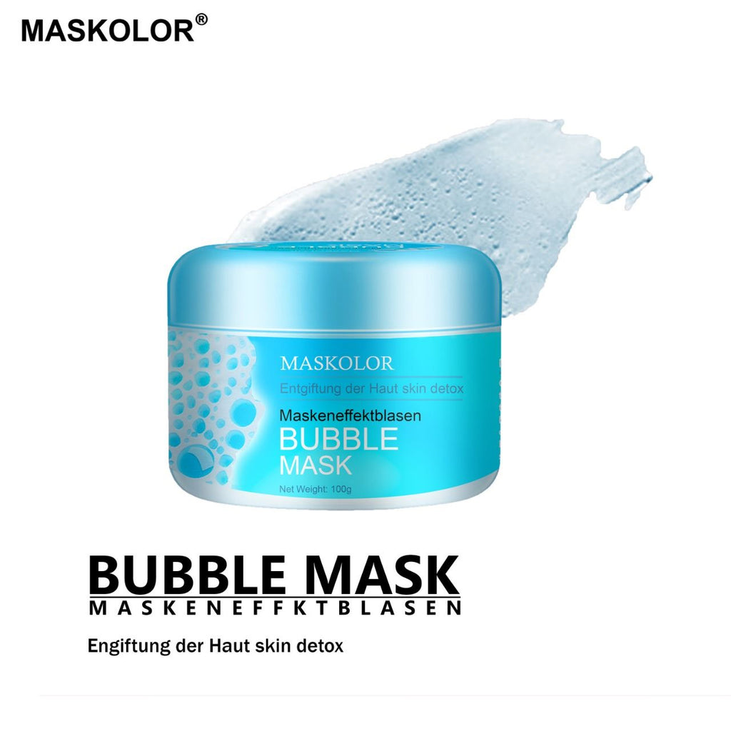 Maskolor Bubble Mask Maskeneffektblasen Face Cleanser - 100gms