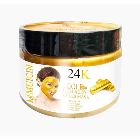 Muicin 24K Gold & Collagen Cells Mask