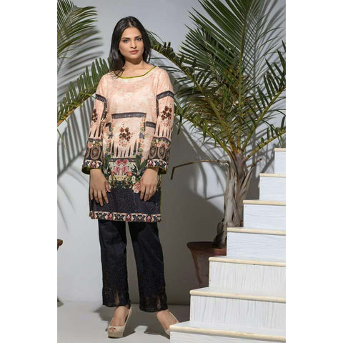Maira Ahsan Digital Print Tunic Collection - ZS-03