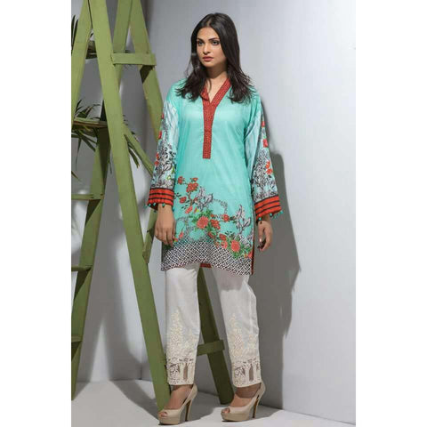 Maira Ahsan Digital Print Tunic Collection - ZS-06