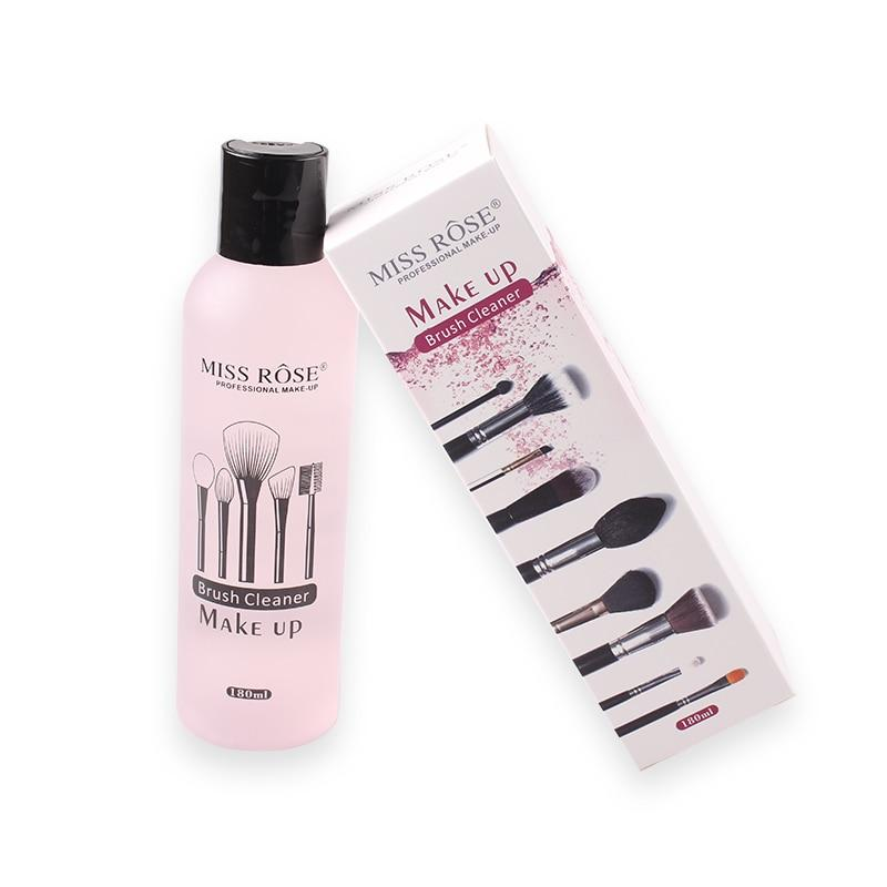 Miss Rose Makeup Brush Cleanser Liquid Solution - 180ML (Extra Large)