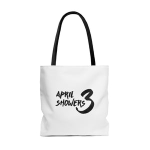 AS3 Gold Umbrella Tote Bag