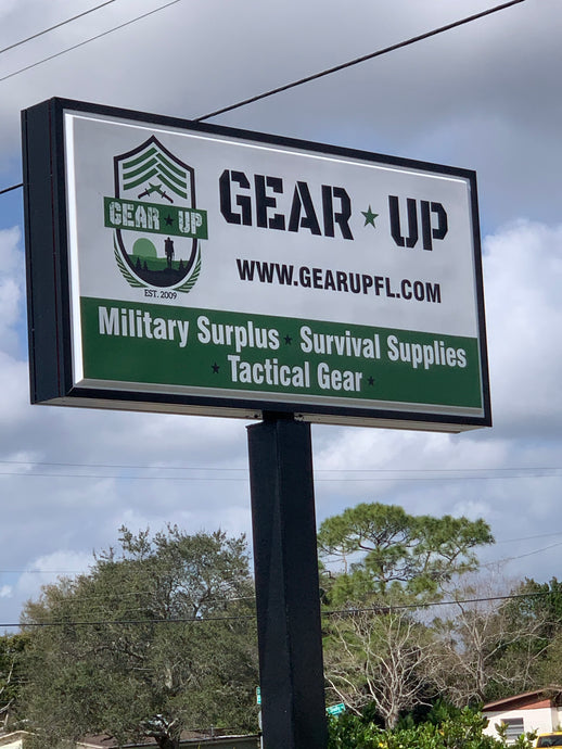 Introducing Our Newest Partner....Gear-Up Surplus of Titusville Florida