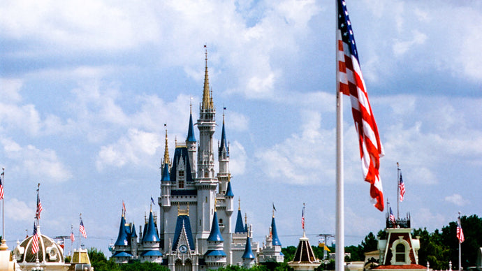 7 American Flags Proudly Displayed At Walt Disney World!