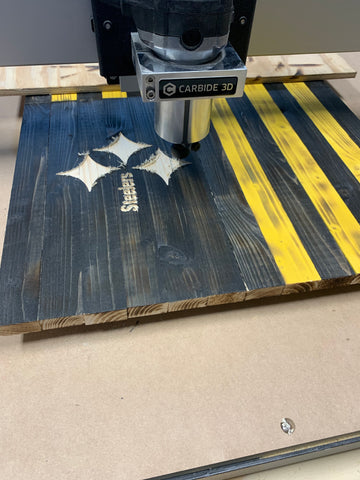 Carving a Flag on a Shapeoko CNC Router