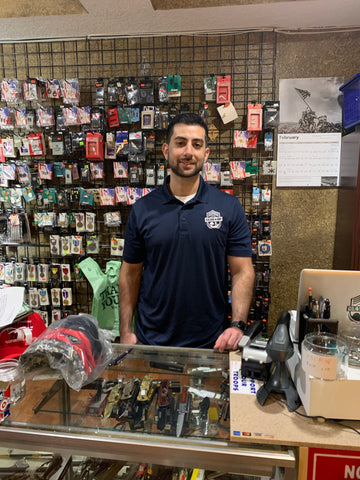 Amer Hatoum Owner of Gear-Up Army Surplus Titusville, FL