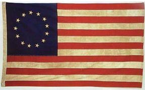 First Official American Flag