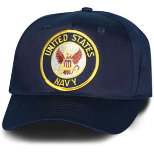 United States Navy Special Edition Eagle and Anchor Black Ball Cap