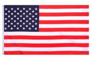 American Flag Nylon Red White Blue 50 Stars