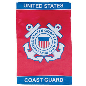 "United States Coast Guard Officially Licensed 12""x18"" Garden Flag"