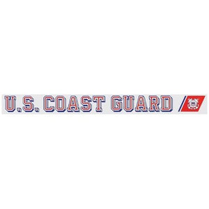 "United States Coast Guard Officially Licensed 18"" Window Sticker - Flags Forever"