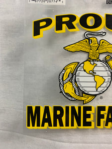 Proud Marine Family Decal Sticker - Flags Forever
