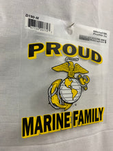 Load image into Gallery viewer, Proud Marine Family Decal Sticker - Flags Forever