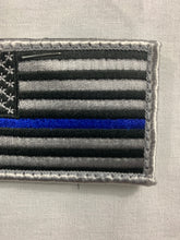 Load image into Gallery viewer, Thin Blue Line American Flag PatchThin Blue Line American Flag PatchThin Blue Line American Flag Patch  THIN BLUE LINE AMERICAN FLAG PATCH - Flags Forever
