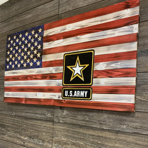 US Army Flag With Engraving - Flags Forever