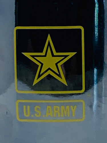 Official US Army Black Lustre 14oz Coffee Mug - Flags Forever