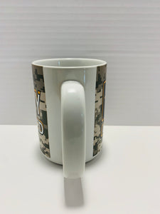 US Army Retired 16 Oz Camo Coffee Mug - Flags Forever