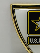 Load image into Gallery viewer, Official US Army Shield Heavy Duty Auto Emblem - Flags Forever