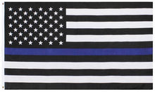 Load image into Gallery viewer, Support Police Thin Blue Line Flags