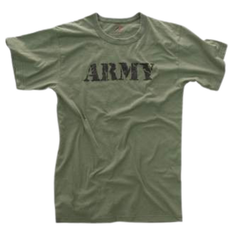Vintage Soft and Comfortable Army T-Shirt