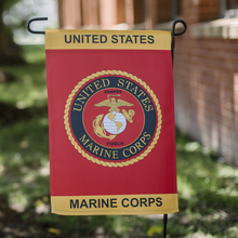Load image into Gallery viewer, US Marine Corps Eagle Globe and Anchor garden Flag - Flags Forever