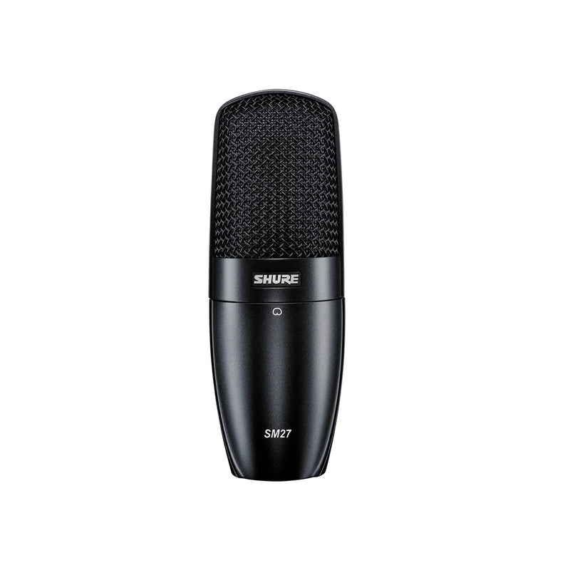 Shure SM27 - Professional Large Diaphragm Condenser Microphone