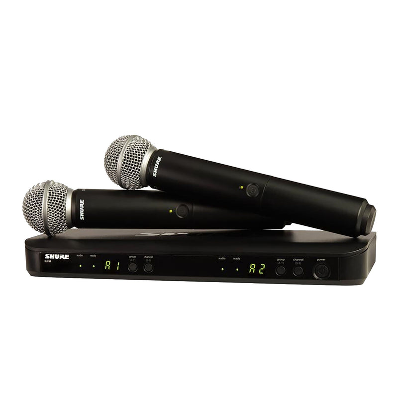 Shure Blx288/sm58 - Wireless Dual Vocal System With Two Sm58 Handheld Transmitters