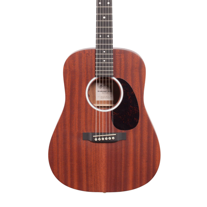 Martin CFM-DJR10E01 Dreadnaught Junior Sapele Acoustic Electric Guitar With Gigbag