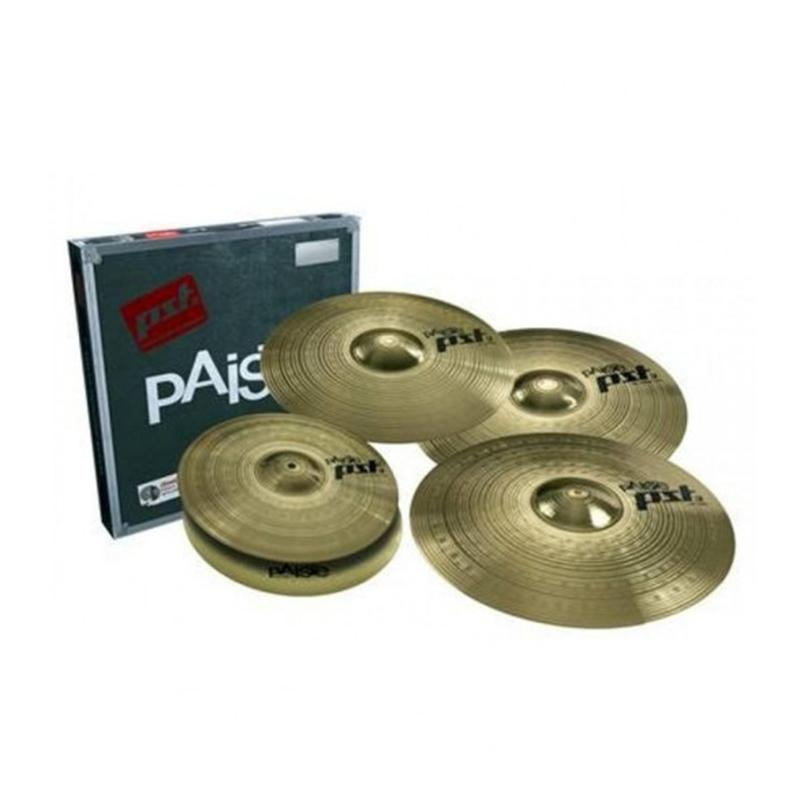 "PAISTE PST 3 14"" Hi-Hat 18"" Crash 20"" Ride plus Bonus 16"" Crash"