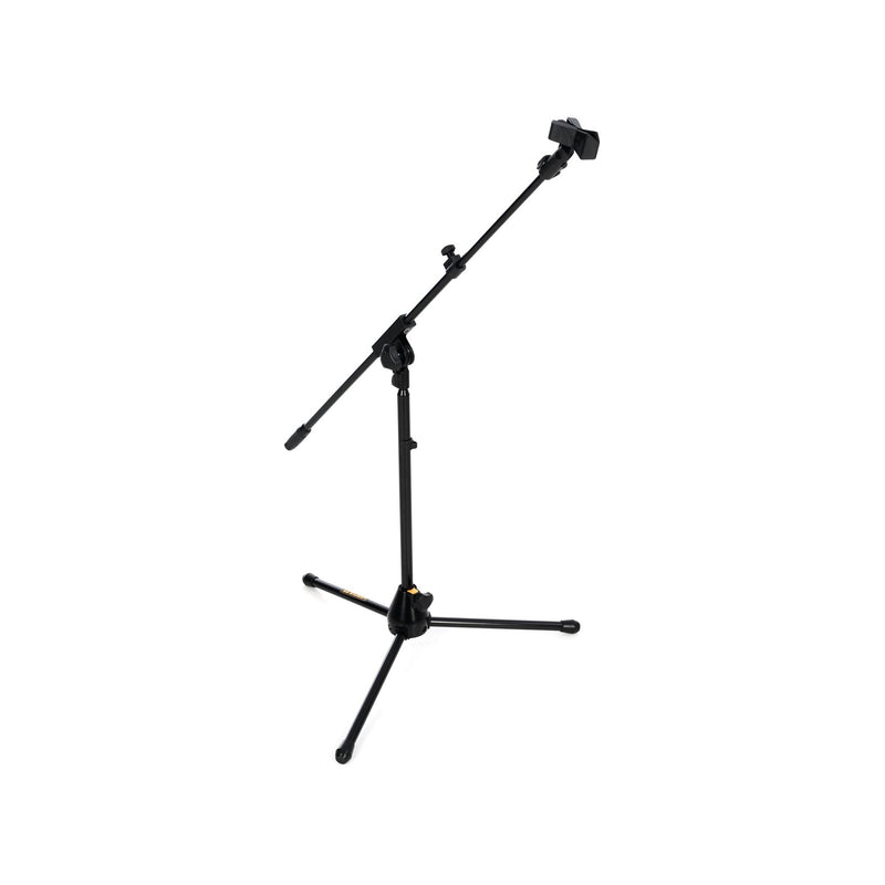 Hercules MS540B EZ Clutch Tripod Microphone Boom Stand with 2-in-1 Boom Clamp and Quick Turn Clutch