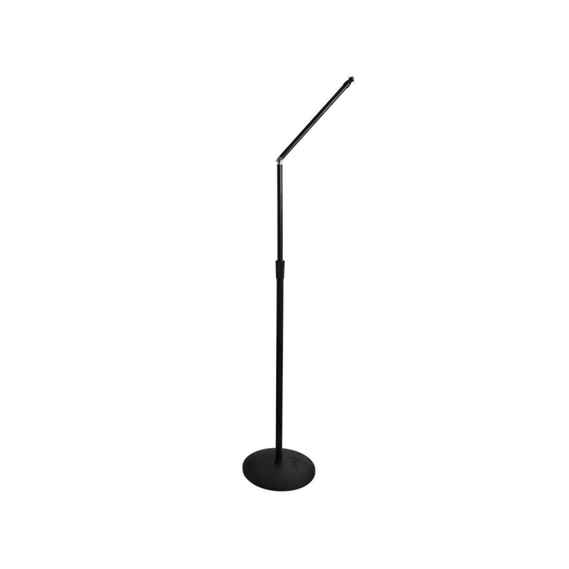 "On-Stage Upper Rocker-Lug Mic Stand with 12"" Low-Profile Base"