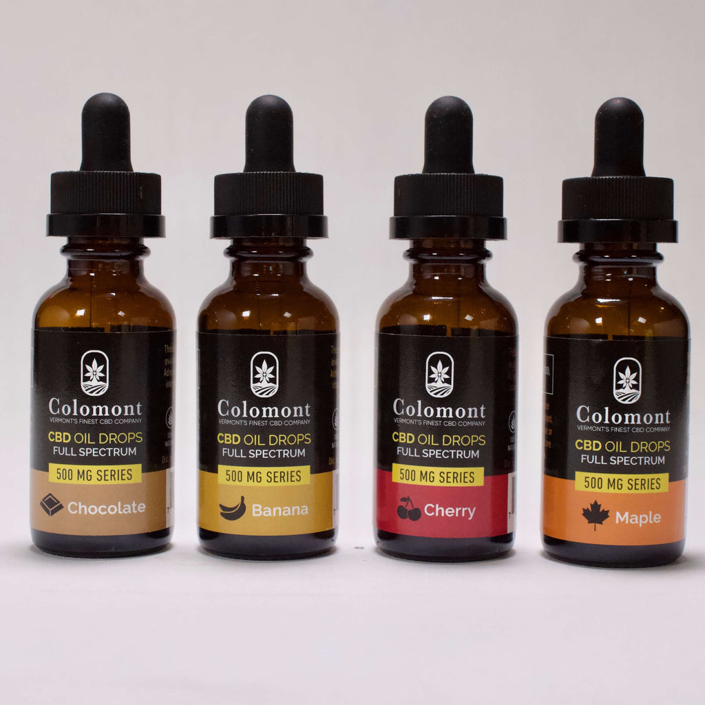 Full Spectrum CBD Oil 500MG - Colomont