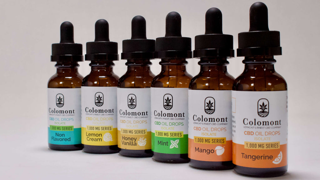 CBD OIL 1,000MG - 6 Flavors - Colomont
