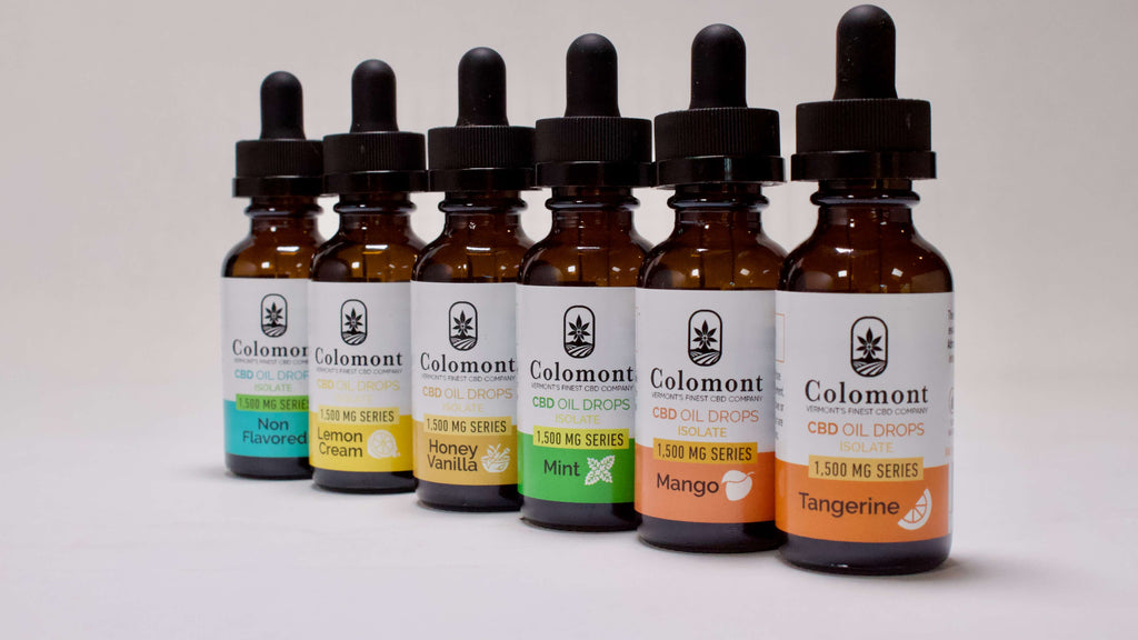 CBD Oil 1,500MG - 6 Flavors - Colomont