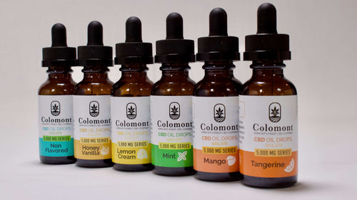 CBD Oil 5,000MG - 6 Flavors - Colomont