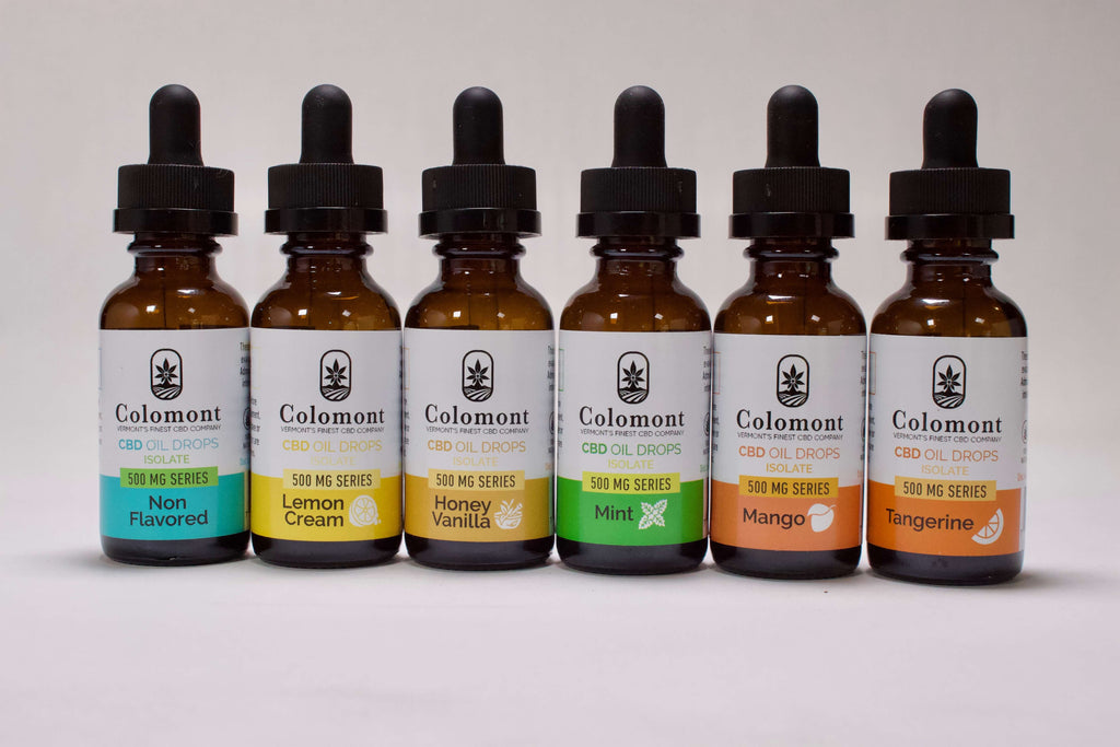 CBD Oil 500MG - 6 Flavors - Colomont
