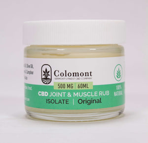 Joint & Muscle Rub 500MG - Colomont