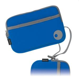 3DS XL Custodia Soft Case Fourel Blu