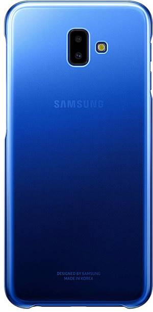 Samsung Gradation Cover AJ610CLE Galaxy J6+ Blue