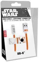 Tribe Cavo MFi Lightning iPhone 1.2m Star Wars BB-8