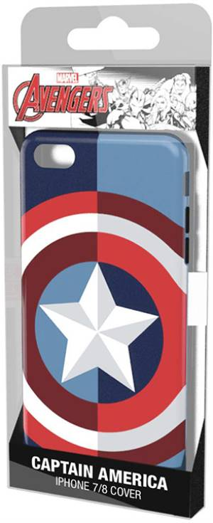 Tribe iPhone 7/8 Hood Case Captain America