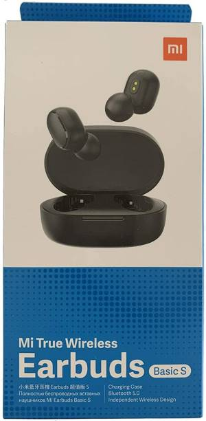Xiaomi Auricolari Wireless Mi True Earbuds Basic S Black